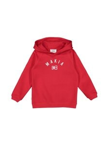 Makia - Brand Hooded -collegehuppari - RED | Stockmann