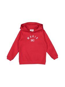 Makia - Brand Hooded -collegehuppari - RED   Stockmann