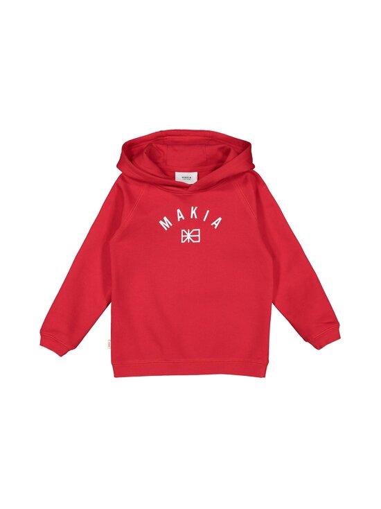 Makia - Brand Hooded -collegehuppari - RED   Stockmann - photo 1