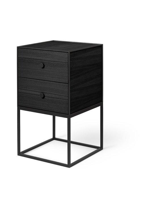 By Lassen - Frame Sideboard 35 -sivupöytä - BLACK STAINED ASH | Stockmann - photo 1