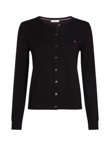 Tommy Hilfiger - Heritage Button-Up -neuletakki - 017 MASTERS BLACK | Stockmann