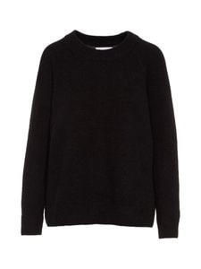 Samsoe & Samsoe - Nor O-Neck Long -neule - BLACK | Stockmann