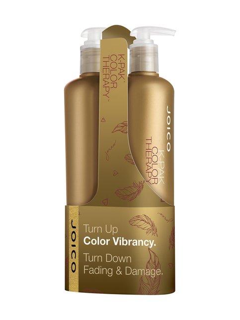 K-Pak Color Therapy Duo -shampoo ja hoitoaine 500 + 500 ml