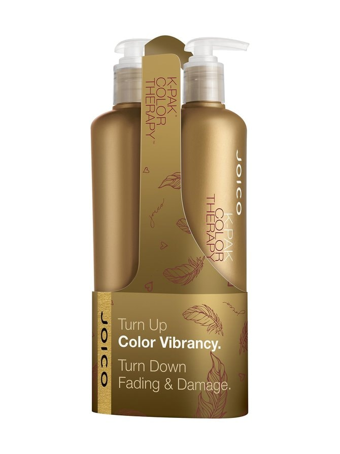 K-Pak Color Therapy Duo -shampoo ja hoitoaine 500 + 500 ml