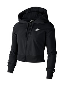 Nike - Sportswear Heritage Hoodie -huppari - 010 BLACK/WHITE/WHITE | Stockmann