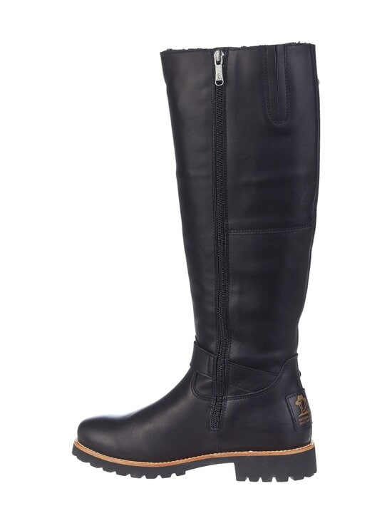 Panama Jack - Amberes Igloo Trav Tall Boot -nahkasaappaat - B1 NAPA GRASS NEGRO   Stockmann - photo 5