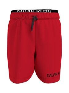 Calvin Klein Kids - Medium Double Waistband -shortsit - XND FIERCE RED   Stockmann