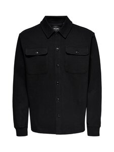 Only & Sons - OnsKodyl Overshirt Sweat -paita - BLACK | Stockmann