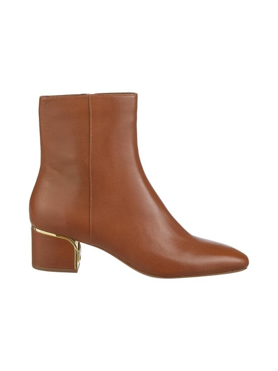 Michael Michael Kors - Lana Flex Mid Bootie -nahkanilkkurit - 230 LUGGAGE | Stockmann - photo 1