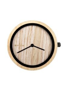 Aarikka - Aikapuu-kellotaulu, pieni ø 36 mm - BEIGE | Stockmann