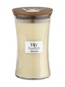 Woodwick - Vanilla Bean -tuoksukynttilä 18 cm - LUONNONVALKOINEN | Stockmann