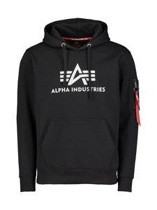 Alpha Industries - 3D Logo Hoody -huppari - BLACK 03 | Stockmann