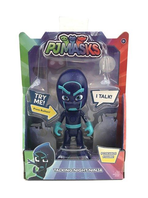 PJ Masks Puhuva ja valoa näyttävä hahmo Night Ninja 15 cm