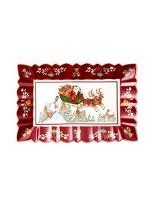 Villeroy & Boch - Toys Fantasy Sleigh Ride -tarjoiluvati 35 x 23 x 3,5 cm - RED   Stockmann